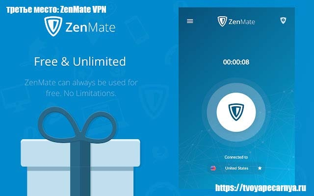 плагин ZenMate VPN для firefox