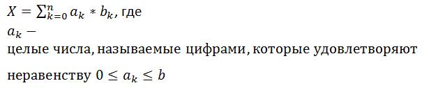 запись определения