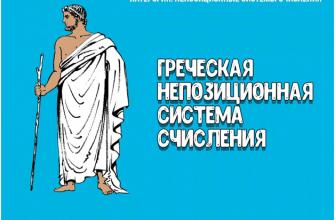 Греческая система счисления