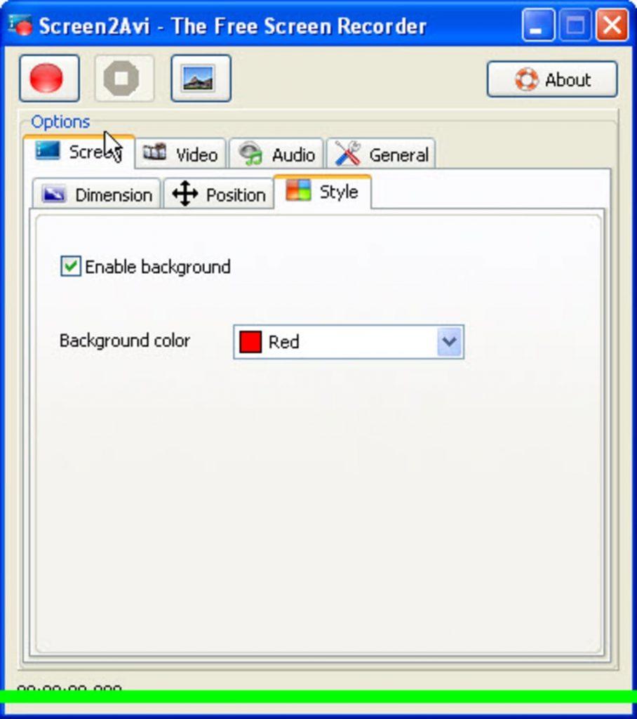 запись с экрана монитора со звуком бесплатно Screen2Avi