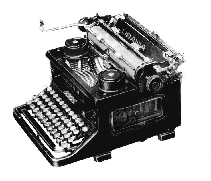 Первые печатные машинки